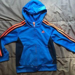Adidas. Zip up hoodie